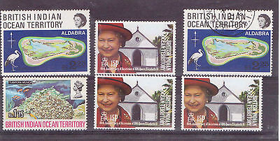 BIOT. A selection stamps mint & used ( D188)