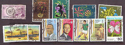 SIERRA LEONE.... A Selection from issues, mostly F/U. ( C216)