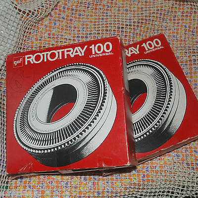 Gaf Rototray 100 Universal Slides 35mm Magazine Full with Pictures 100 Capacity