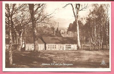 Aviemore Y. H. Youth Hostel and the Cairngorms, Scotland postcard.