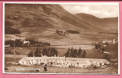 The Spittal of Glenshee, Perthshire,  Scotland postcard. Real Photo Ideal Series