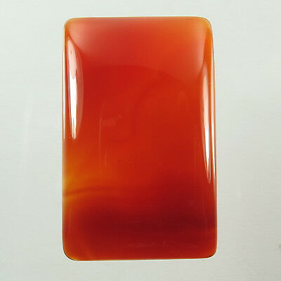 Gorgeous Rectangle Cabochon 37.10 Cts Real CARNELIAN Gemstone 32x20 mm Top Store