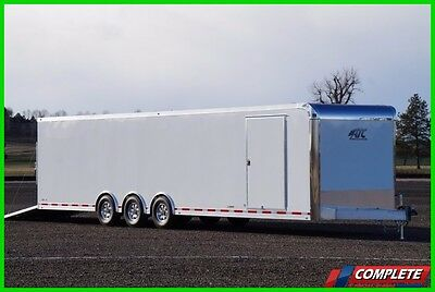 ATC 8.5 X 34 Triple Axle Enclosed Carhauler Trailer: Cargo Hauling Special!