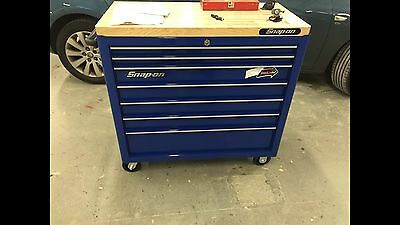 "Snap On Tool 40"" Roll Cab Box With Tools"