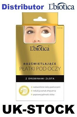 L'BIOTICA 3x2 COLLAGEN EYE PATCHES BRIGHTENING L BIOTICA LBIOTICA