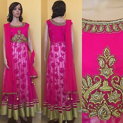 *CLEARANCE*Readymade Asian,Anarkali SuitUK SIZE 12 (bust size-40,length-56)