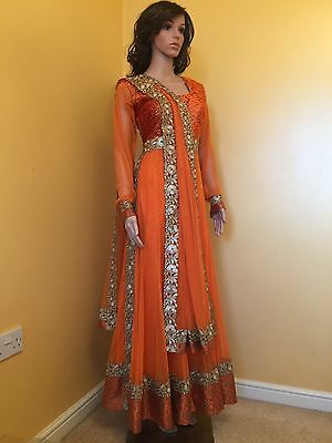 *CLEARANCE*Readymade Asian,Anarkali Suit.UK SIZE10-12(bust size-39)