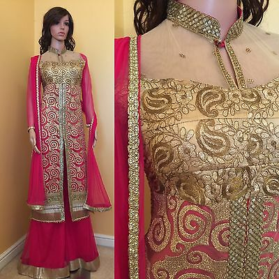 *REDUCED*Readymade Asian,Sharara Suit.UK SIZE 10 (bust size-38).