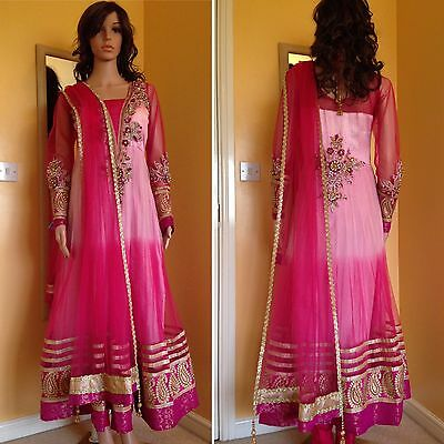 *CLEARANCE*Readymade Asian,Anarkali Suit.UK SIZE 10 (bust size-38).