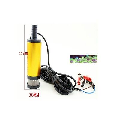 12v Battery Powered Pump Emergency Flow For  Marine Tropical Aquarium Tank Pond