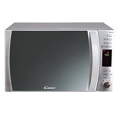 Candy Cmg 25 Dcs - Microondas Con Grill, 25 L, Color Plateado 2233