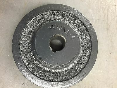 Browning AK46 X 3/4 Bushing Bore V-Belt Pulley, 1 Groove, Cast, 3X783