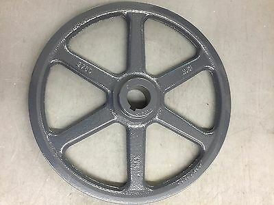 """Browning AL94X5/8 V-Belt Pulley, 5/8"""" Bore, 1 Groove, 8.78"""" Pitch Dia."""