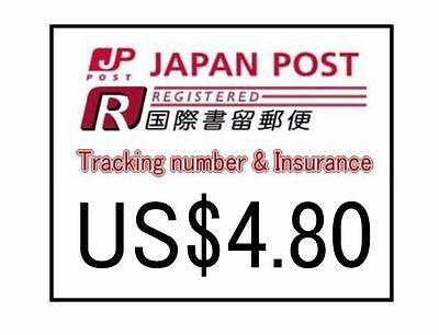 Japan Post Office Registered Mail Service Tracking number & Insurance Service