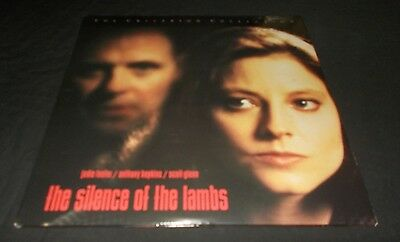 The Silence Of The Lambs Laserdisc Laser Disc Vgc Jodie Foster