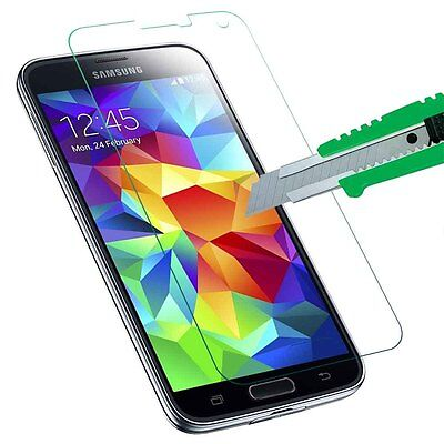 Tempered   Glass   Screen Protector Film For Samsung Galaxy S5  Wise Choice