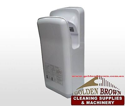Automatic Jet Blade Hand Dryer 90 m/sec Carbon Brush Motor Top Quality