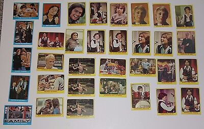 Partridge Family Trading Cards - Lot of 33
