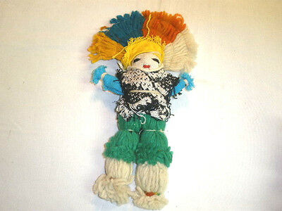 Vintage Cloth & Yarn  Doll  - 11""