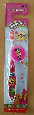 Shopkins brush buddies toothbrush with lid. Brand new.