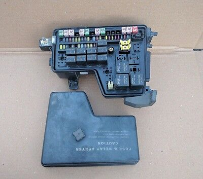 02 03 dodge ram integrated power distribution module fuse box 2003 dodge ram 1500 2500 3500 fuse box p56045433ag ai ah 3 7 4 7 5 7 5 9 8 0