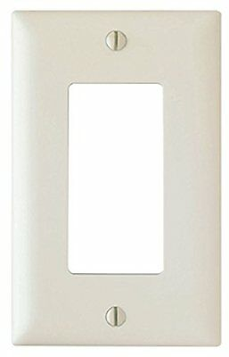 Pass and Seymour TP26-LA Decorator Opening Wall Plate, 1G One Gang, Light Almond
