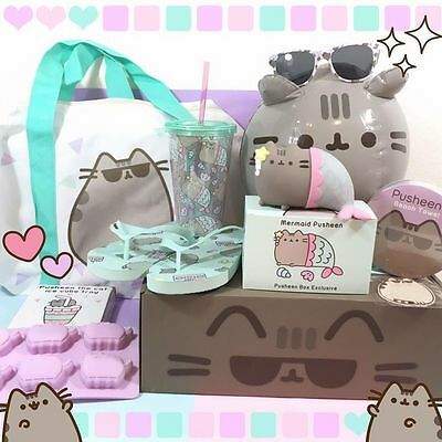 Pusheen Subscription Summer Box  Iron On Patch  (Brand New)