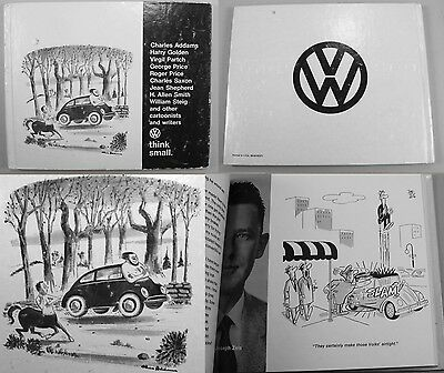 Addams Family Chas Charles 1967 Volkswagen Think Small Dealer Giveaway VW