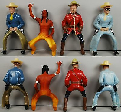"Hartland 9"" Cowboy 1950s Mixed Sets Grouping ALL ORIGINAL"