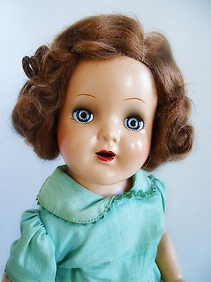 """GORGEOUS AND RARE Vintage Early 1930's """"NANCY"""" 20"""" Comp. Mama Doll by Arranbee"""