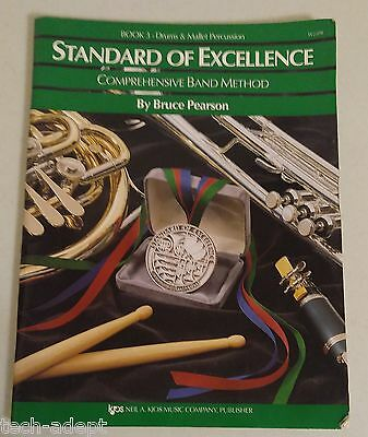 Standard of Excellence - Book 3 Drums & Mallet Percussion - Rudiments Practice