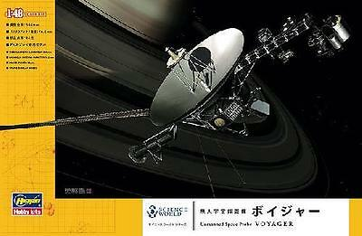 Hasegawa 54002 1/48 Scale Kit SW02 Science World Unmanned Space Probe Voyager