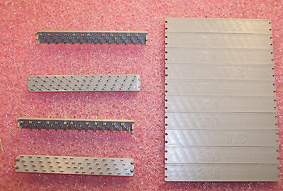 """Qty (5) 3426-0000T 3M 50 Position Staggered Grid 2 Piece Idc Pcb Connector .100"""""""