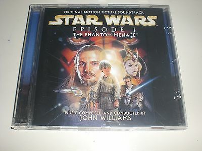 John Williams - Star Wars Episode I The Phantom Menace - SONY EUROPE 1999 VG+