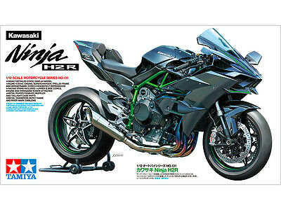 Tamiya 14131 1/12 Scale Sport Bike Model Kit Kawasaki Ninja H2R Motorcycle H2-R