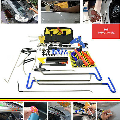 PDR Rod Dent Repair Removal Tool set Perfect for Door Dings Hail Repair Tool Bag