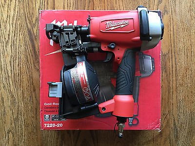 Milwaukee 1-3/4 in. Coil Roofing Nailer