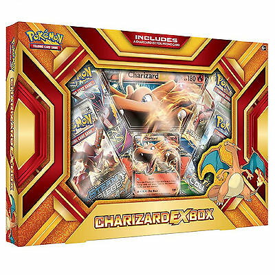 Pokemon XY Charizard EX Fire Blast Collection Box : Booster Packs + Promo Cards