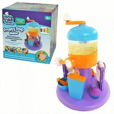 Sambro Taste 'N' Fun Frosty Pop Maker Childs Toy Gift Ages 5+