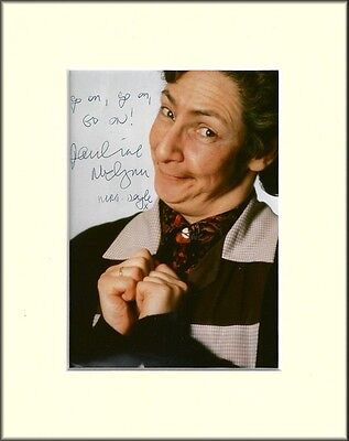 Pauline Mclynn Father Ted  Mrs Doyle Pp Mounted 8X10 Signed Autograph Photo