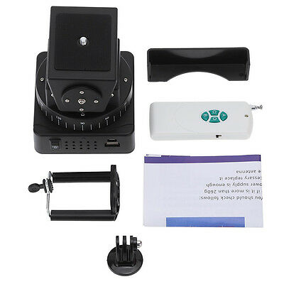 07S8 Zifon YT-260 Remote Control Motorized Pan Tilt Head for Extreme Camera Wif