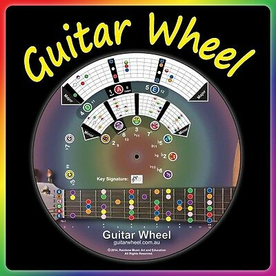 Guitar Wheel - An easy way to learn and how to play guitar