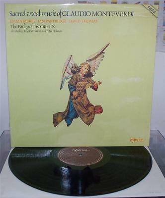 Sacred Vocal Music Of Claudio Monteverdi - Kirby / Partridge - Hyperion A66021