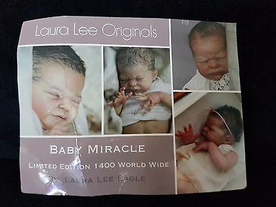 Laura Lee Eagles Miracle doll kit SOLE 995/1400