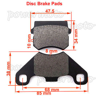 Steel Front Brake Pads For Shineray 250 STXE ST9E STIXE 200STIIEB 150 ATV Quad