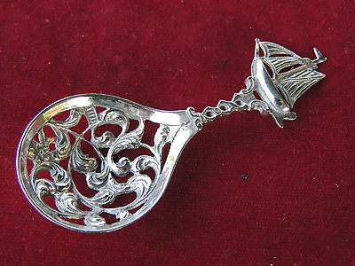 Beautiful, Sterling Silver, Decorative Spoon