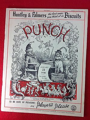 Vintage : PUNCH Magazine : 21st January 1948