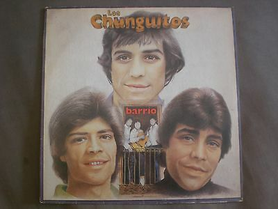 Lp Los Chunguitos - Barrio - Emi Odeon 1982 - Vg+