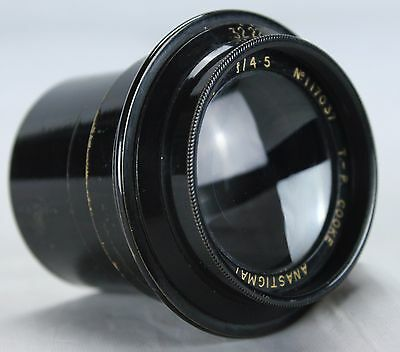 COOKE TT&H TAYLOR HOBSON 5 3/4 inches F4.5 Lens Vintage Great Condition