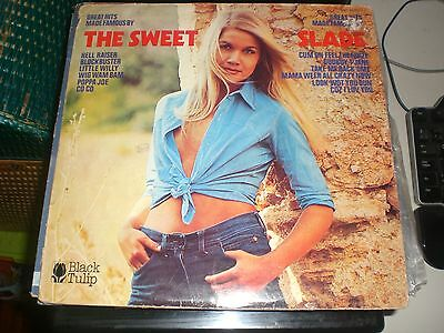 LP Great Hits Made Famous By The Sweet / Slade - Black Tulip Netherlands 1973